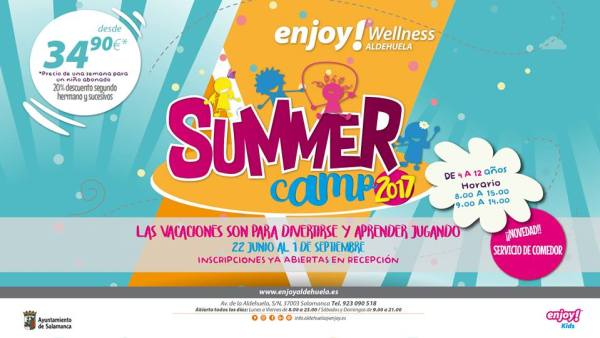 Summer Camp 2017 en Enjoy Wellness Aldehuela