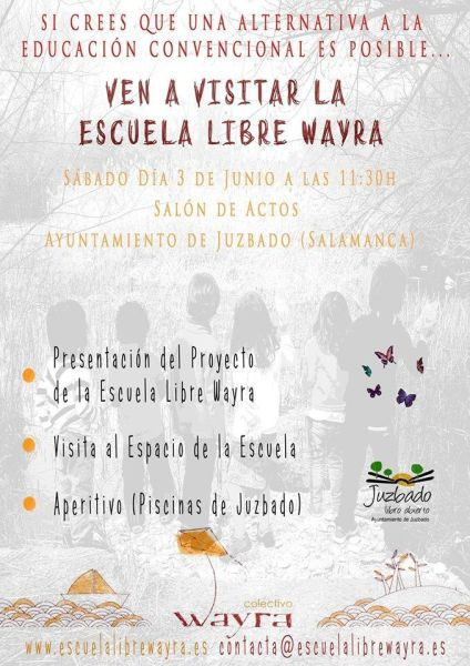 Escuela libre Wayra en Juzbado ¡Conócela!