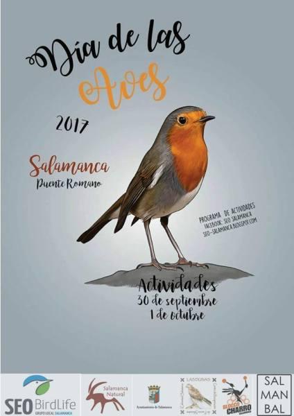 Celebra este domingo 1 de octubre el Día de las Aves en el Puente Romano de Salamanca
