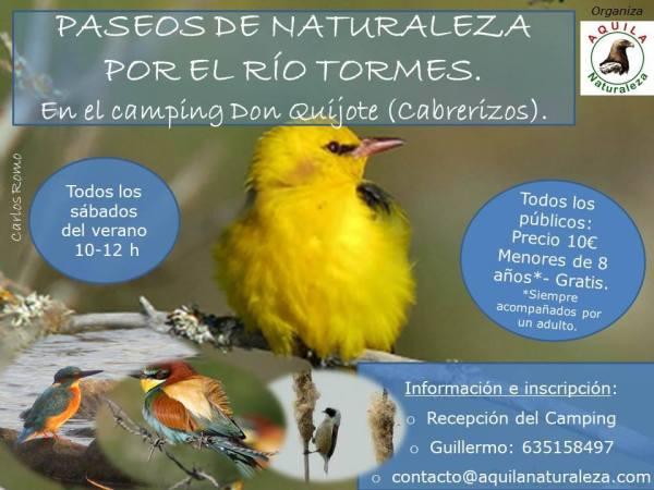 Participa en el último paseo por la naturaleza del verano con Aquila