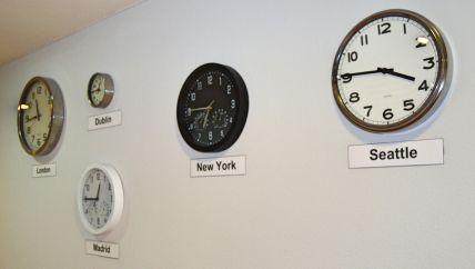 Para saber la hora en otros lugares del mundo