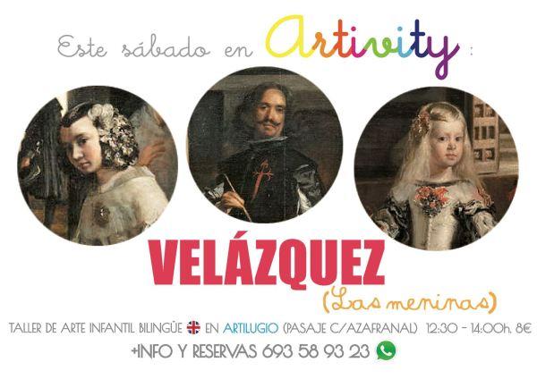 Velázquez en el Artivity de este sábado