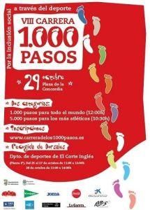 Este domingo se celebra la Carrera de los 1.000 pasos por la inclusión en el deporte