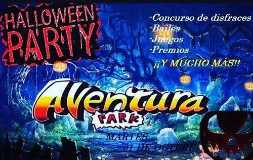 Celebra Halloween en Aventura Park
