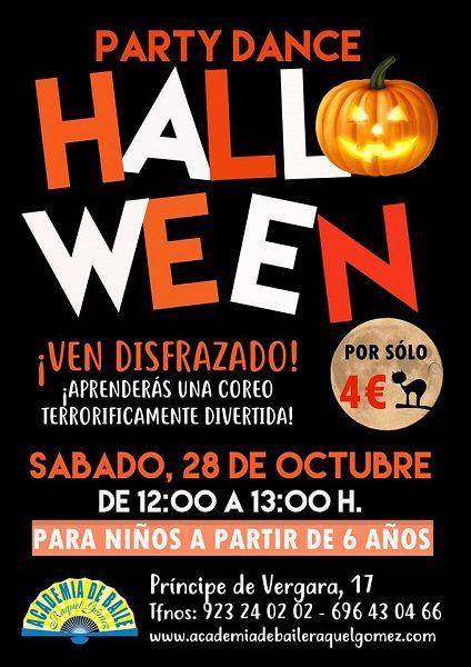Party Dance Halloween en la Academia de Baile de Raquel Gómez en Salamanca
