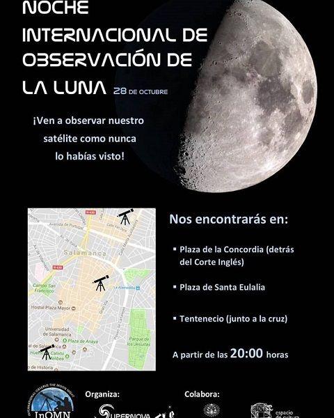 Observación Internacional de la Luna con Supernova en Salamanca
