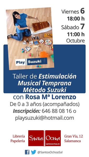 Una nueva oportunidad para conocer el Método Suzuki en el aprendizaje musical de los más pequeños