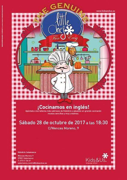 """Taller infantil """"Cocinamos en inglés"""" en Kids & Us"""