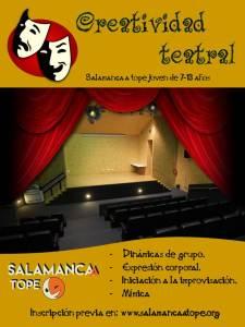Taller de creatividad teatral para niños en Satope Joven