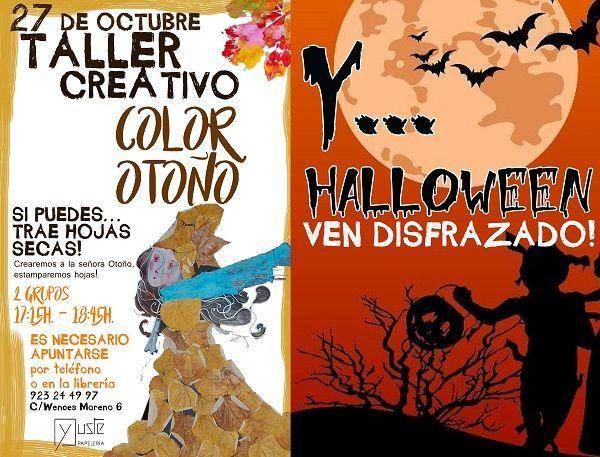 Taller creativo infantil en la librería Yuste de Salamanca