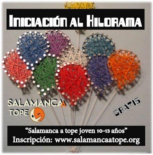 Taller de iniciación al hilorama con Satope Joven en Salamanca