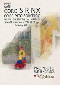 Concierto Solidario del Coro de Sirinx
