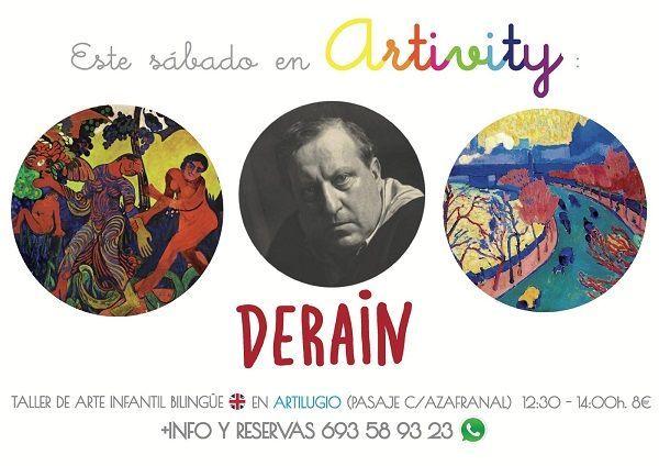 Artivity, taller infantil de arte en inglés en Salamanca