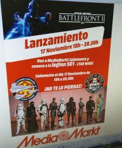 Conoce a los miembros de la Legión 501 este viernes en Media Markt Salamanca