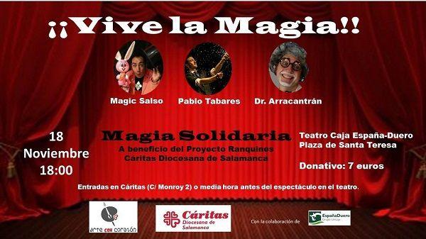Magia Solidaria a favor de Cáritas