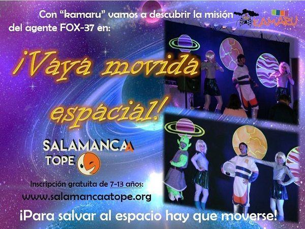 Disfruta de un fiesta muy especial en Satope Joven ambientada en el mundo del espacio