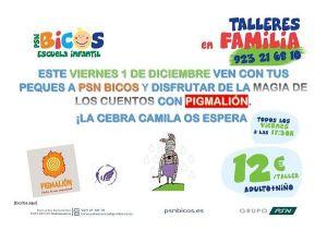 Taller infantil de animación a la lectura en Bicos Salamanca