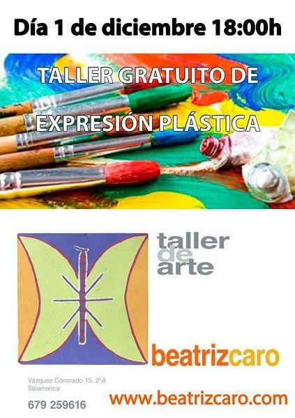Taller infantil de expresión plástica en el Espacio Creativo Beatriz Caro de Salamanca