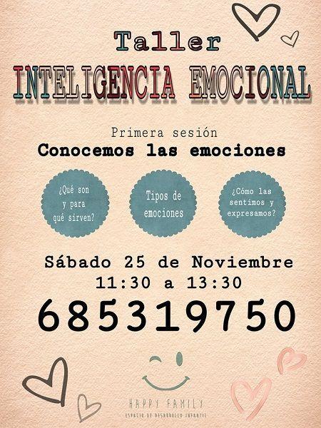 Taller infantil de inteligencia emocional en Happy Family Salamanca