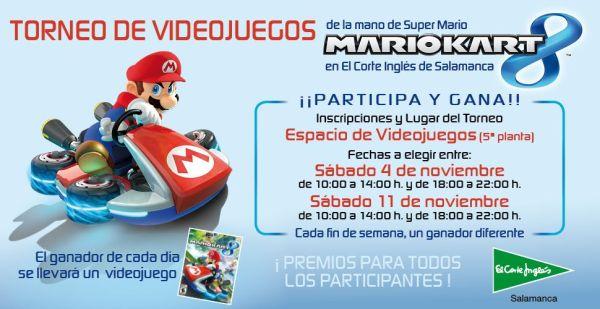 Torneo de videojuegos de Mario Kart 8 en El Corte Inglés