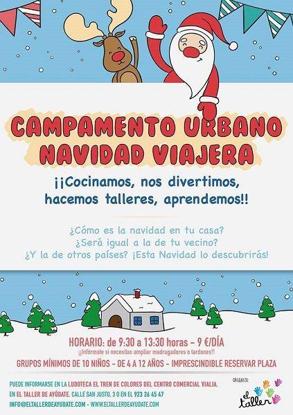 Campamento urbano de Navidad en Vialia