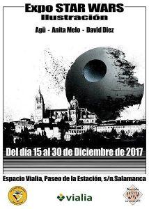 Exposición de Star Wars en el Espacio Vialia