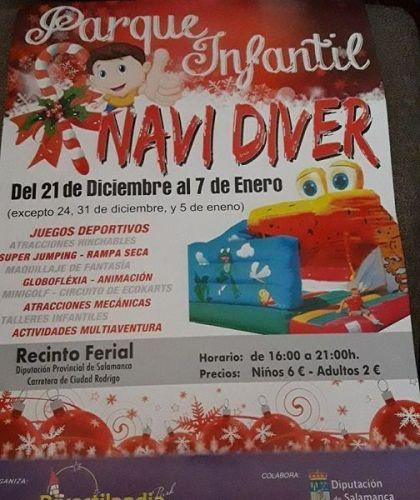 Pásate estas Navidades por el Recinto Ferial de la Diputación de Salamanca y disfruta de Navidiver