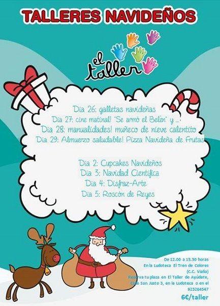 Talleres navideños de El Taller de Ayúdate en Vialia