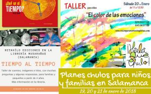 Agenda HQC de planes infantiles y familiares en Salamanca