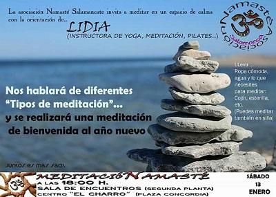 Sesión de Meditación con Lidia en El Charro