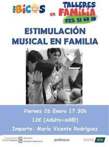 Estimulación musical en familia en PSN Bicos