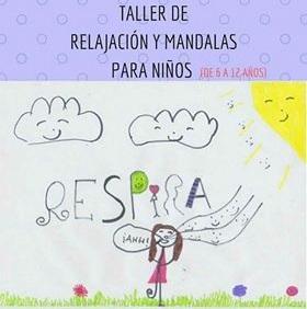 Taller de relajación y mandala para niños