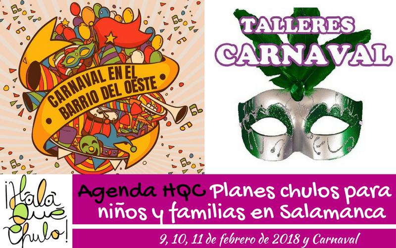 AgendaHQC de planes infantiles y familiares en Salamanca