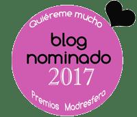 Hala qué chulo, blog nominado a los Premios Madresfera 2017