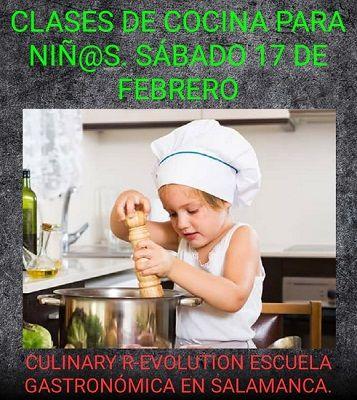 Clases de Cocina para niños