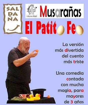 Cuentacuentos con Fernando Saldaña en la librería Musarañas