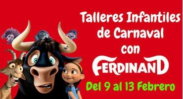 Talleres infantiles de Carnaval en El Tormes