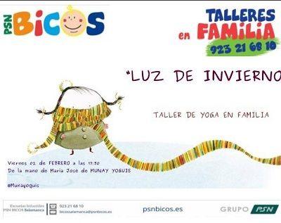 Taller de yoga en familia con Munay Yoguis en Bicos