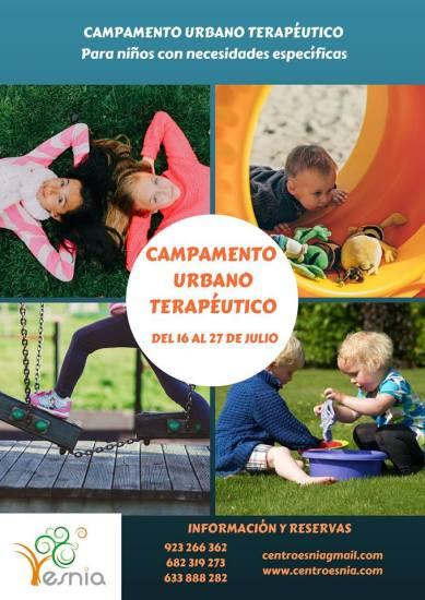 Campamento urbano terapéutico en Salamanca