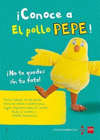 """""""El Pollo Pepe"""" en Leclerc Salamanca"""