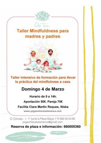 Taller de meditación para padres y madres