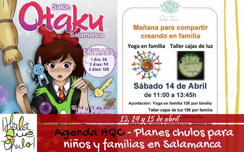 Agenda HQC | Planes infantiles y familiares en Salamanca