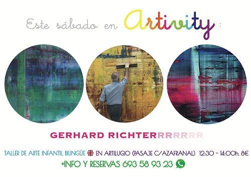 El taller de arte en inglés con Gerard Richter