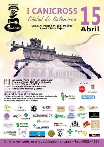 I Canicross Ciudad de Salamanca