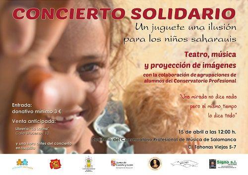 Concierto Solidario en el Conservatorio Profesional de Música