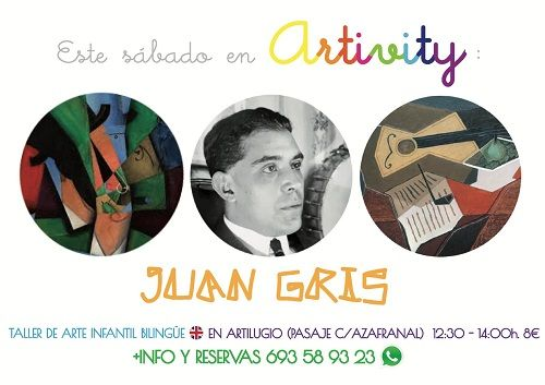 Juan Gris en el Artivity