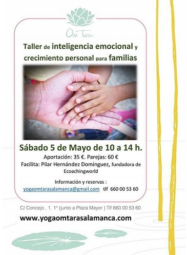 Taller de inteligencia emocional para familias en el Centro de Yoga y Meditación Om Tara