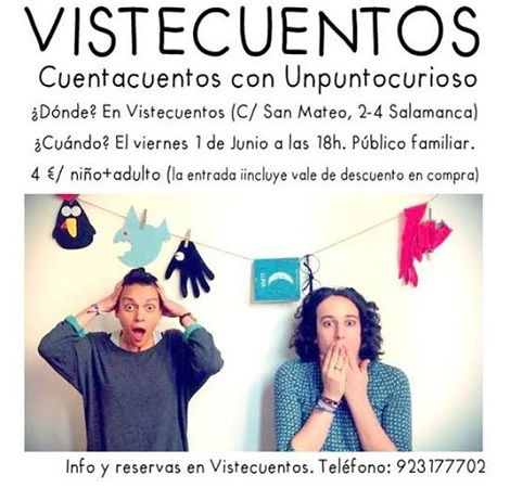 Unpuntocurioso en Vistecuentos