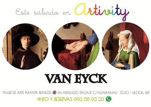 Van Eyck en el Artivity, taller de arte en inglés