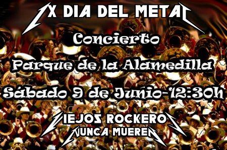 Concierto de metal en el Parque de La Alamedilla